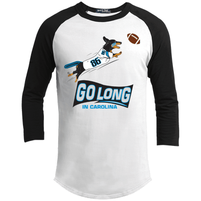 Go Long In Carolina Baseball Shirt