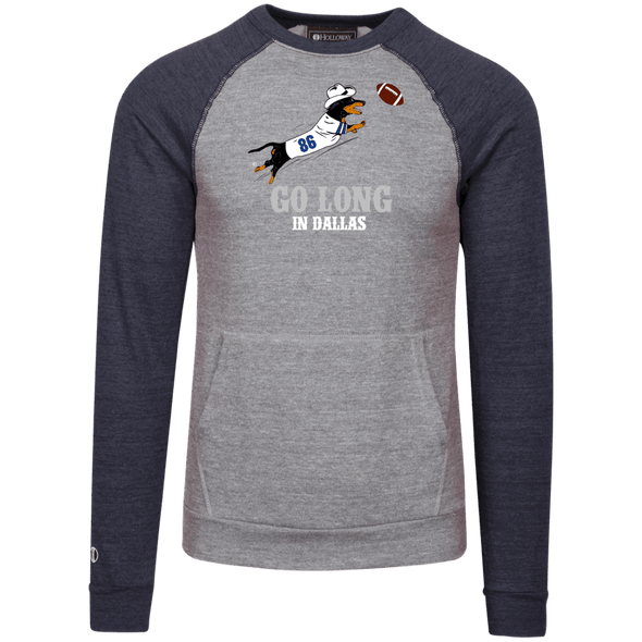 Go Long in Dallas Vintage Fleece Heathered Crew