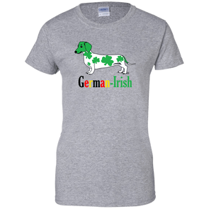 German-Irish Ladies' Cotton T-Shirt