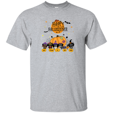 Personalized Happy Hallowiener Ultra Cotton T-Shirt