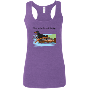Dach of the Bay B&T SH Ladies' Softstyle Racerback Tank