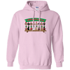 Wiener Dog Elf Shelf 50/50 Pullover Hoody