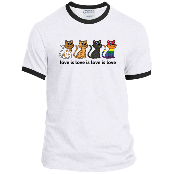 Love Is Love - CATS Ringer Tee