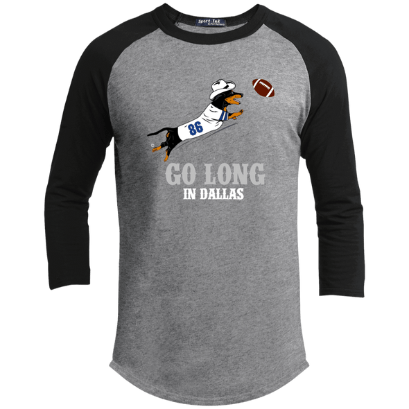 Go Long in Dallas 100% Cotton Baseball Jersey