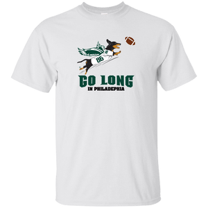 Go Long in Philadelphia Unisex Ultra Cotton T-Shirt