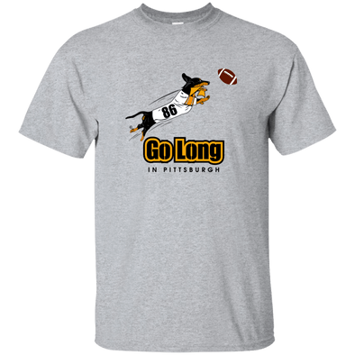 Go Long in Pittsburgh Unisex Ultra Cotton T-Shirt