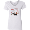 Canada Pride Ladies' V-Neck T-Shirt
