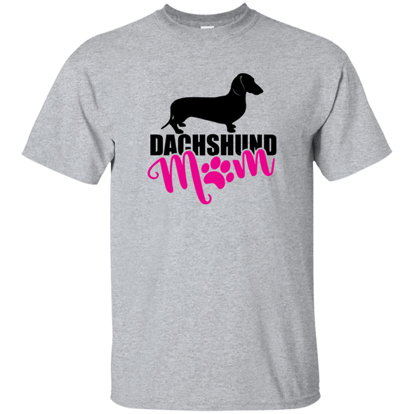 Dachshund Mom Shorthair (Pink) Unisex Ultra Cotton T-Shirt