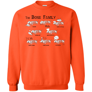 The Bone Family Crewneck Pullover Sweatshirt