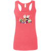 Easter Dachshunds Ladies' Softstyle Racerback Tank