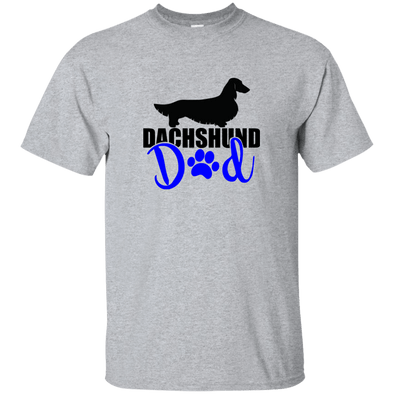 Dachshund Dad Longhair (Blue) Ultra Cotton T-Shirt