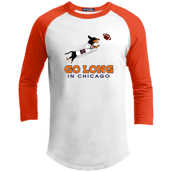 Go Long in Chicago 100% Cotton Baseball Jersey