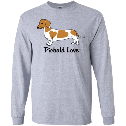 Piebald Love (Red) LS Ultra Cotton T-shirt