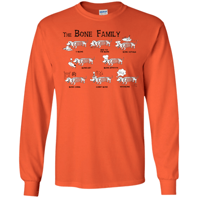 The Bone Family LS Ultra Cotton T-shirt