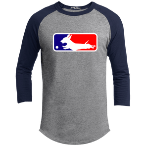 Baseball Dachshund 100% Cotton Baseball Jersey