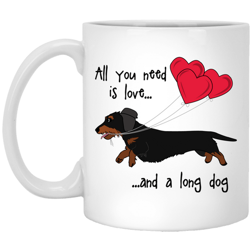 All You Need Is Love WH (B&T) 11 oz. Ceramic Mug