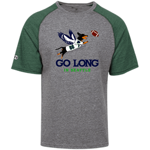 Go Long in Seattle Tri-blend Heathered Shirt