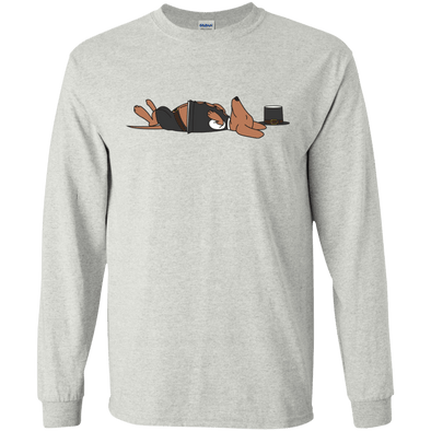 Stuffed Sausage Dog LS Ultra Cotton T-Shirt