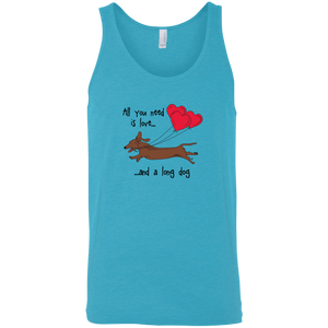 All You Need Is Love SH (Red) Unisex Tank