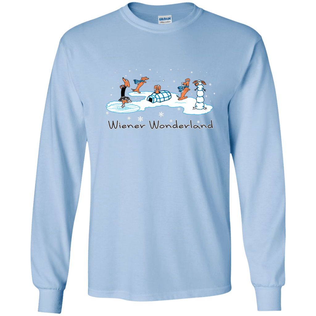 Design t shirt ultras -  Wiener Wonderland Design 1 Ls Ultra Cotton T Shirt