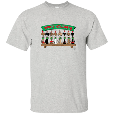Wiener Dog Elf Shelf Unisex Ultra Cotton T-Shirt