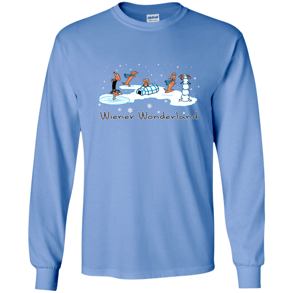 Wiener Wonderland Design 1 LS Ultra Cotton T-shirt
