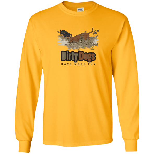 Dirty Dogs (2) LS Ultra Cotton T-Shirt