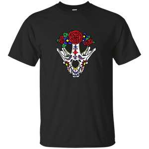 Canine Sugar Skull Ultra Cotton Unisex T-Shirt