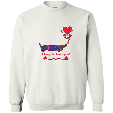 Long To Love You Crewneck Pullover Sweatshirt