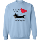 All You Need Is Love (B&T) Crewneck Pullover Sweatshirt
