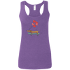 Skateboarding Doxies Ladies' Softstyle Racerback Tank