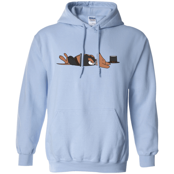 Stuffed Sausage Dog 50/50 Pullover Hoody