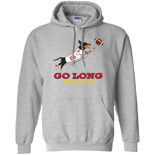 Go Long in Kansas City Pullover Hoody