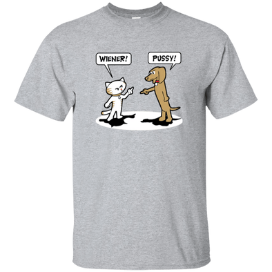 Wiener Pussy Unisex Ultra Cotton T-Shirt (light colors)