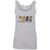 Love Is Love - CATS Ladies' 100% Ringspun Cotton Tank Top