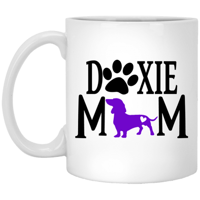 Doxie Mom (Purple) 11 oz. Ceramic Mug