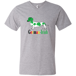 German-Irish Men's V-Neck T-Shirt