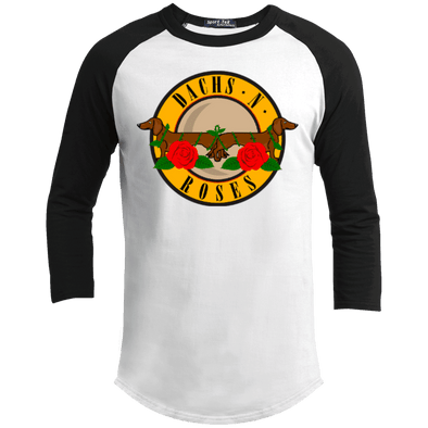 Dachs N Roses 100% Cotton Baseball Shirt