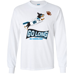 Go Long Carolina LS Ultra Cotton T-Shirt