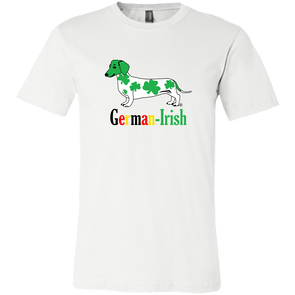 German-Irish Bella + Canvas Unisex T-Shirt