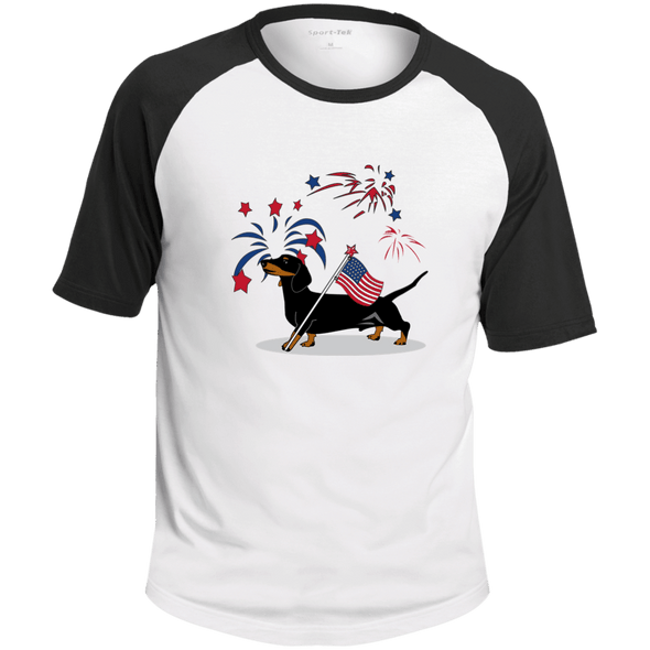 Patriotic Smooth B&T Colorblock Raglan Jersey