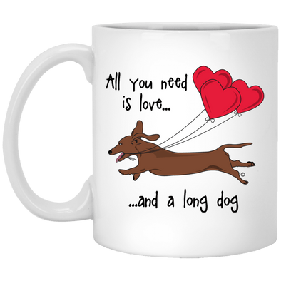 All You Need Is Love SH (Red) 11 oz. Ceramic Mug