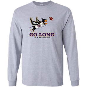 Go Long in Baltimore Unisex LS Ultra Cotton T-Shirt