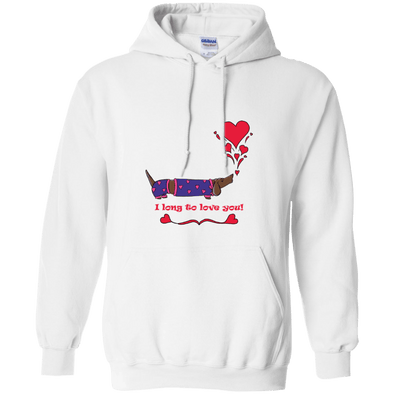 Long To Love You Pullover Hoody