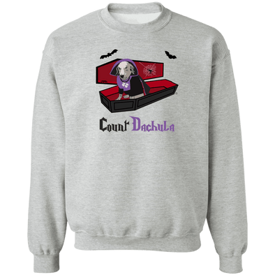 Count Dachula Crewneck Pullover Sweatshirt
