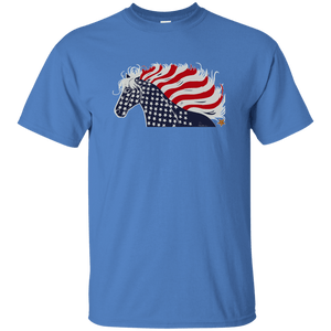 USA Patriotic Horse Unisex Ultra Cotton T-Shirt