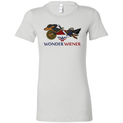 Wonder Wiener Bella + Canvas Ladies' T-Shirt