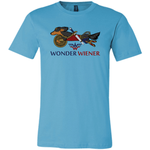 Wonder Wiener Bella + Canvas Unisex T-Shirt