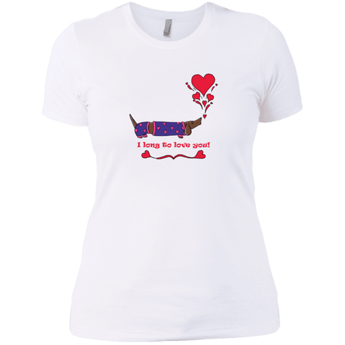 Long To Love You Next Level Ladies' Boyfriend Tee