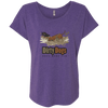 Dirty Dogs (2) Next Level Ladies' Triblend Dolman Sleeve